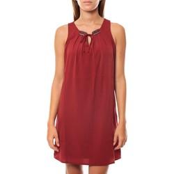 Abbigliamento Donna Abiti corti Vero Moda KRISTY S/L SHORT DRESS EX7 Rosewood Rosso