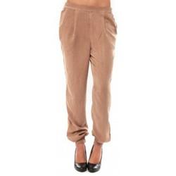 Abbigliamento Donna Pantaloni Vero Moda KANIO NW LOSSE PANT Maghony Rose Beige