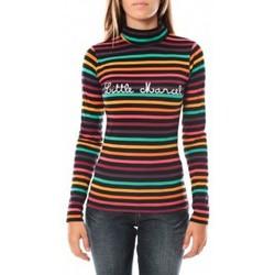 Abbigliamento Donna T-shirts a maniche lunghe Little Marcel DUNKE 250 FN Nero