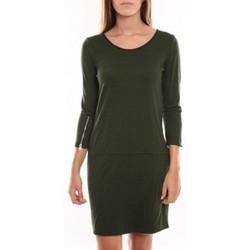 Abbigliamento Donna Abiti corti Vero Moda Freya 3/4 Short Dress 97250 Vert Verde