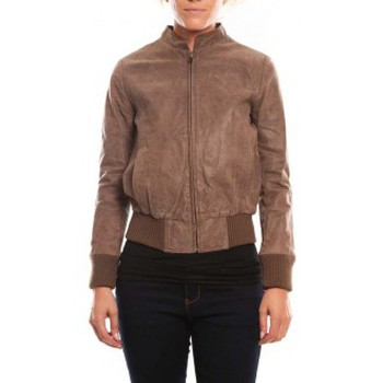 Abbigliamento Donna Giacca in cuoio / simil cuoio Comme Des Filles Comme des Garçons Veste Cristina Marron Marrone