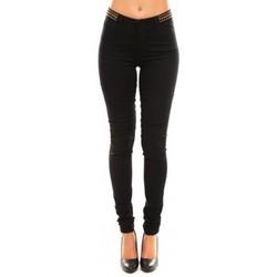 Abbigliamento Donna Pantaloni Vero Moda Wonder NW Skinny Bead 10099955/32 Nero
