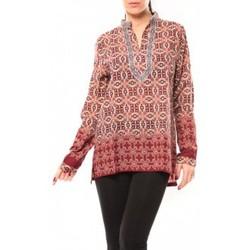 Abbigliamento Donna Camicie Dress Code Chemisier SHK F323 Rouge Rosso