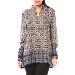 Abbigliamento Donna Camicie Dress Code Chemisier SHK F323 Bleu Blu