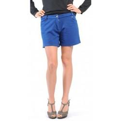 Abbigliamento Donna Shorts / Bermuda American Vintage SHORT KEY131 INDIGO Blu