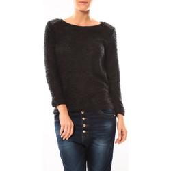 Abbigliamento Donna Maglioni De Fil En Aiguille Pull 1422 Noir Nero