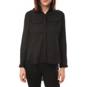 Abbigliamento Donna Camicie By La Vitrine Chemise Eloise 285 Noir Nero