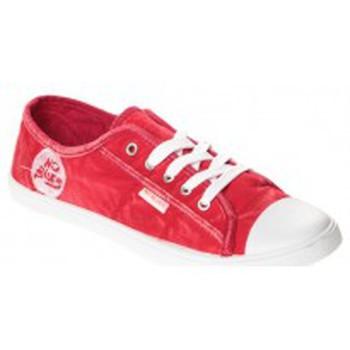 Scarpe Donna Sneakers basse Cassis Côte d'Azur Baskets Vika Rouge Rosso