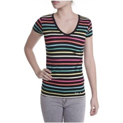 Abbigliamento Donna T-shirt maniche corte Little Marcel T-shirt Alexina MC 276 Multicolore
