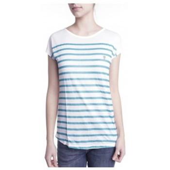 Abbigliamento Donna T-shirt maniche corte Little Marcel T-shirt Doldi Bleu Turquoise Blu