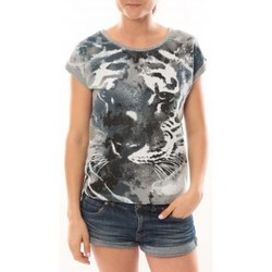 Abbigliamento Donna T-shirt maniche corte L'atelier Du Marais T-Shirt Tiger Gris Grigio