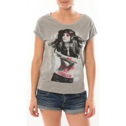 Abbigliamento Donna T-shirt maniche corte L'atelier Du Marais T-Shirt Want To See Gris Grigio