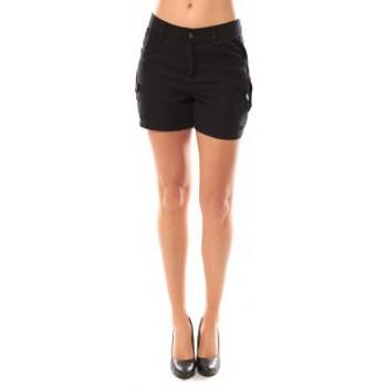 Abbigliamento Donna Shorts / Bermuda Vero Moda Sunny Day Shorts 10108018 Noir Nero