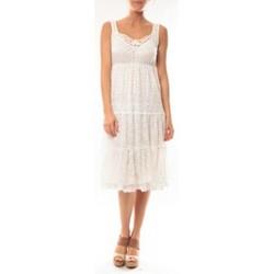 Abbigliamento Donna Abiti corti Dress Code Robe LF11252 Blanc Bianco