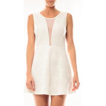 Abbigliamento Donna Abiti corti Vera & Lucy Robe Lucce 9199 Blanc Bianco