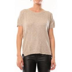 Abbigliamento Donna T-shirt maniche corte By La Vitrine T-Shirt S13010 Taupe Marrone