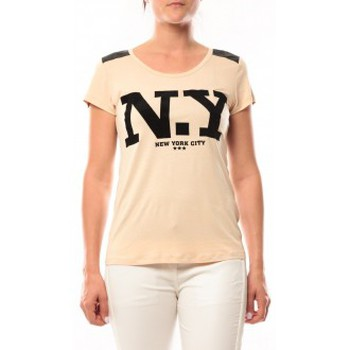 T-Shirt Love Look NY 1660 Beige