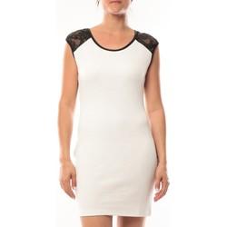 Abbigliamento Donna Abiti corti Dress Code Robe Love Look 320 Blanc Bianco