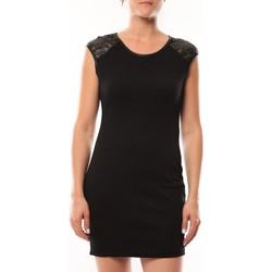 Abbigliamento Donna Abiti corti Dress Code Robe Love Look 320 Noir Nero