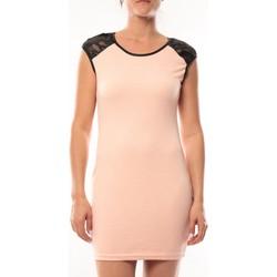 Abbigliamento Donna Abiti corti Dress Code Robe Love Look 320 Rose Rosa