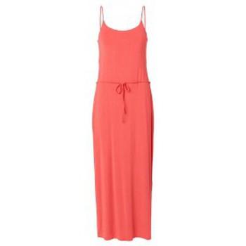 Abbigliamento Donna Abiti lunghi Vero Moda Gemma Strap Ancle Dress 101078394 Rose Rosa