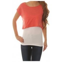 Abbigliamento Donna Top / Blusa Vero Moda Shorty Wide Top Rosa