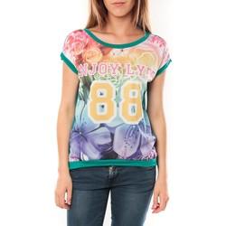 Abbigliamento Donna T-shirt maniche corte Tcqb T-shirt 88 Vert Verde