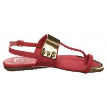 Scarpe Donna Infradito Cassis Côte d'Azur Sandales Fiduz Rouge Rosso