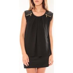 Abbigliamento Donna Abiti corti Dress Code Robe ANM Moda Noir Nero