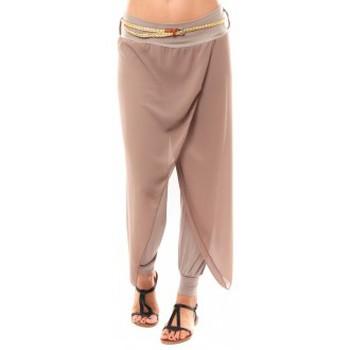 Abbigliamento Donna Pinocchietto Dress Code Pantalon O.D Fashion Beige Beige