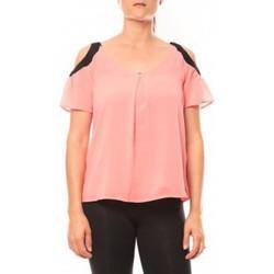 Abbigliamento Donna T-shirt maniche corte Comme Des Filles Comme des Garçons T-shirt Moni&Co 328 Fushia Rosa