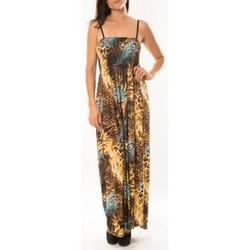 Abbigliamento Donna Vestiti By La Vitrine Robe Huamei F723 Bleu Blu