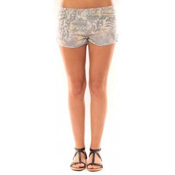 Abbigliamento Donna Shorts / Bermuda De Fil En Aiguille Short Victoria & Karl Gris Grigio
