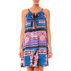 Abbigliamento Donna Tuniche Comme Des Filles Comme des Garçons Robe Tricotonic A2025 Bleu foncé Blu