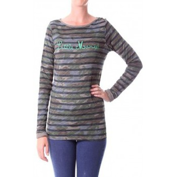 Abbigliamento Donna T-shirts a maniche lunghe Little Marcel T-shirt Tamanite H14IBF026 Kaki Verde