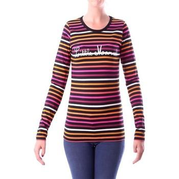 Abbigliamento Donna T-shirts a maniche lunghe Little Marcel T-shirt Line RDC ML 307 PF4IBF007 Multicolor Multicolore
