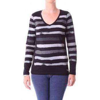 Abbigliamento Donna T-shirts a maniche lunghe Little Marcel T-shirt Alexina Paint H14IBF180 Gris Grigio
