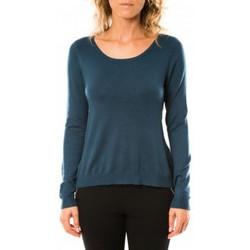 Abbigliamento Donna Maglioni Vero Moda Glory Eve LS Zipper Blouse 10114841 Marine Blu