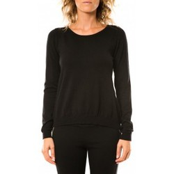 Abbigliamento Donna Maglioni Vero Moda Glory Eve LS Zipper Blouse 10114841 Noir Nero