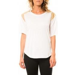 Abbigliamento Donna T-shirt maniche corte Coquelicot T-shirt CQTW14410 Blanc Bianco