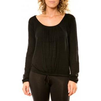 Abbigliamento Donna Maglioni Vision De Reve Vision de Rêve Pull 12033 Noir Nero