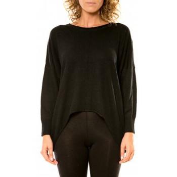 Abbigliamento Donna Maglioni Vision De Reve Vision de Rêve Pull 12021 Noir Nero
