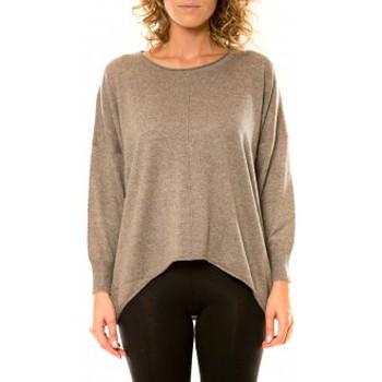 Abbigliamento Donna Maglioni Vision De Reve Vision de Rêve Pull 12021 Taupe Marrone