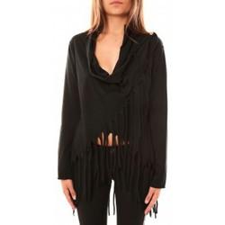 Abbigliamento Donna Maglioni De Fil En Aiguille Pull Viki Noir Nero