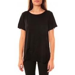 Abbigliamento Donna T-shirt maniche corte Coquelicot T-shirt CQTW14311 Noir Nero