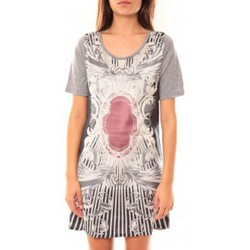 Abbigliamento Donna Tuniche Coquelicot Robe Tunique CQTW14212 Gris Grigio