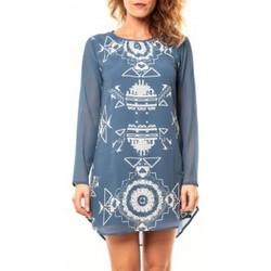 Abbigliamento Donna Tuniche Coquelicot Tunique CQTW14206 Bleu Blu