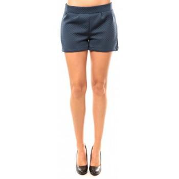 Abbigliamento Donna Shorts / Bermuda Coquelicot Short CQTW14617 Bleu Blu