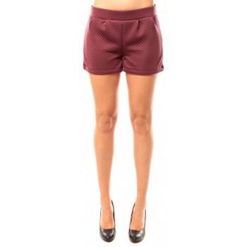 Abbigliamento Donna Shorts / Bermuda Coquelicot Short CQTW14617 Bordeaux Rosso