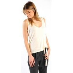 Abbigliamento Donna Top / T-shirt senza maniche American Vintage DEBARDEUR NOU27 NATUREL Beige
